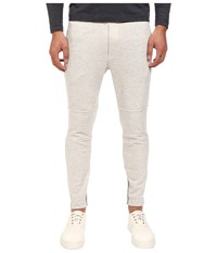 Theory Dryden.Axis Terry Sweatpants Light Heather Men's Casual Pants Beige