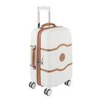 Delsey Chatelet Hard 4 Wheel Trolley Case Angora