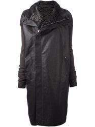Rick Owens Biker Coat Grey