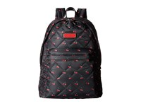 Marc By Marc Jacobs Crosby Quilt Nylon Printed Fruit Backpack Cherry Print