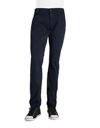 7 For All Mankind Straight Leg Cotton Blend Pants