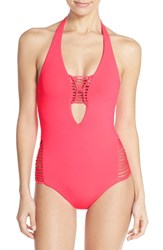 Women's Becca 'Over The Shoulder' One Piece Swimsuit