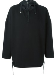 Blood Brother Oversized Hood Sweater Black