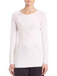 Tess Giberson Moving Ribbed Sweater