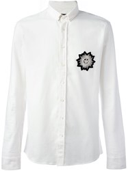 Balmain Patch Shirt White