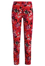 Patrizia Pepe Trousers Red