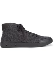 Rag And Bone Wool Hi Top Sneakers Grey