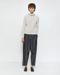 Dua An Pleat Trousers Denim