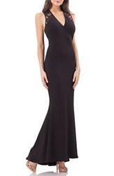 Js Collections Women's Ottoman Mermaid Gown