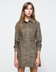 Halston Dress In Olive