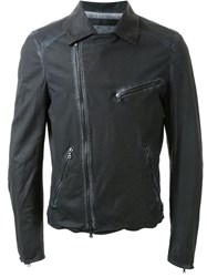 Drome Asymmetric Zip Jacket Black