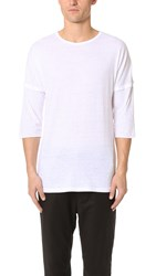 Chapter Stalt 3 4 Sleeve Tee White