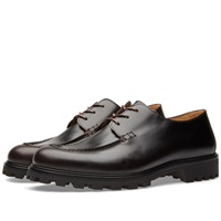 A.P.C. Leon Derby Shoe Dark Brown