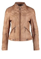 Gipsy Macy Lasov Leather Jacket Camel