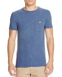 Todd Snyder Classic Pocket Tee Washed Royal