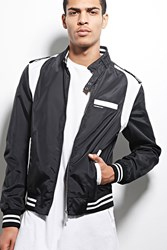 Forever 21 Members Only Colorblock Jacket Black