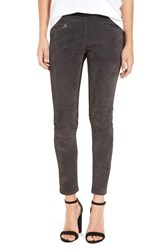 Blank Nyc Women's Blanknyc Suede Leggings Charcoal