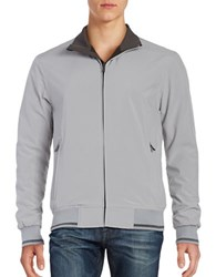 Weatherproof Ultra Stretch Fleece Lined Bomber Polar Grey