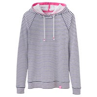 Joules Marlston Lightweight Hoodie Soft Navy Stripe