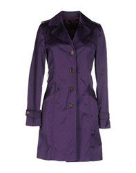 Atos Lombardini Coats And Jackets Full Length Jackets Women Purple