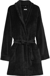 Dkny Velour Robe Black
