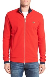 Lacoste Men's Pique Zip Track Jacket