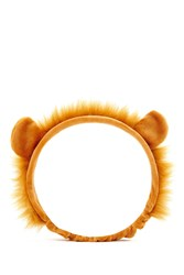 Forever 21 Faux Fur Trimmed Lion Headband Brown Brown