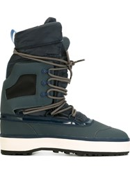 Adidas By Stella Mccartney Lace Up After Ski Boots Brown