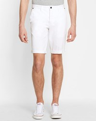 Minimum White Frede Bermuda Shorts