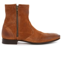 Pete Sorensen Hurricane Camel High Top Zip Up Boots