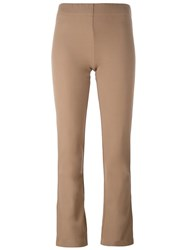 Joseph Slim Fit Leggings Nude Neutrals