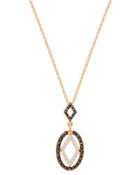 Ivanka Trump Affinity Black And White Diamond Necklace