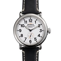 Shinola Runwell 41Mm Watch Black