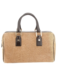 Borbonese Structured Tote Brown