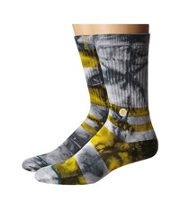 Stance Summer League Pirates Yellow Men's Crew Cut Socks Shoes