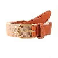Dents Webbing Belt Natural