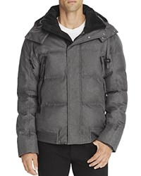 Andrew Marc New York Coventry Down Puffer Jacket Fog