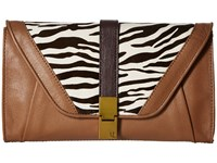 Elliott Lucca Cordoba Clutch Tiger Haircalf Clutch Handbags Animal Print