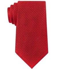 Sean John Unsolid Solid Tie Red