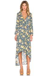 Rolla's Camille Wrap Dress Teal