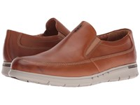 Clarks Un.Byner Easy Tan Leather Men's Slip On Shoes