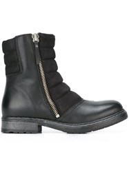Diesel 'D My Rock Pad' Boots Black