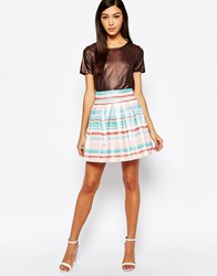 Sister Jane Sunrays Skirt Multi