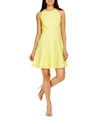 Donna Morgan Flounce Fit And Flare Dress Mimosa