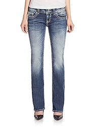 Vigoss Embellished Bootcut Jeans Medium Wash