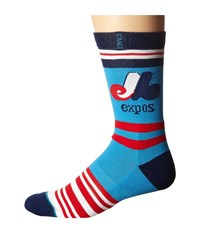 Stance Expos Blue Men's Crew Cut Socks Shoes