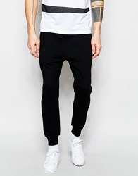 Izzue Jogger With Contrast Waistband Black