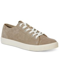 Calvin Klein Jeans Jerome Suede Sneakers Men's Shoes Stone