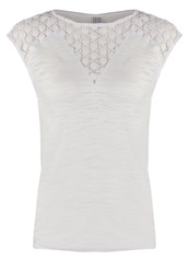 Saint Tropez Basic Tshirt White