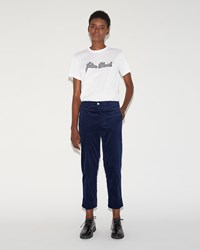 Julien David Stretch Cotton Trouser Night Blue